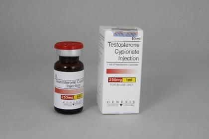 Testosteron Cypionate injeksjon 250mg/ml (10ml)