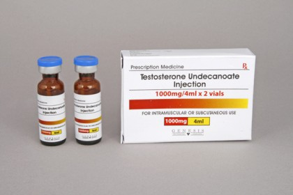 Testosteron Undecanoate injeksjon 500mg/amp (2 amp)
